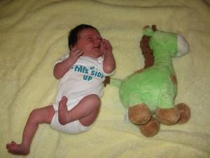 Mikayla - One week old