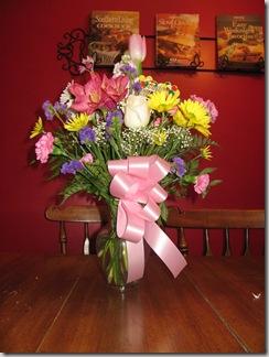 Week 32 and birthday flowers 011