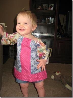 April 1 2010 - Cicis and dress 022