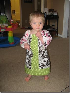 April 1 2010 - Cicis and dress 026