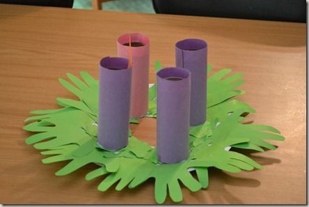 Toddler friendly advent wreath a sugar mamma s thoughts a blog by