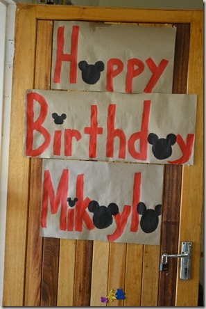 Mickey party, swim and swing 041