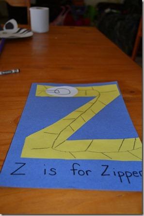 Letter Z 006