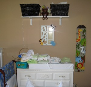 Nursery prior to Mikayla's arrival